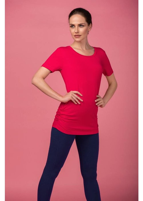 Asquith Asquith Bend It Tee - Sunset Pink