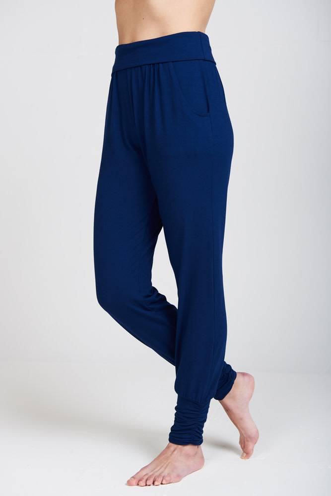 98c8f0488f4c2f Asquith Long Harem Pants - Navy