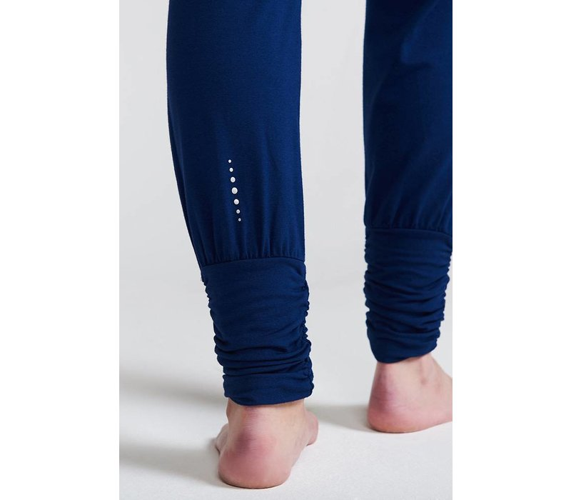 Asquith Long Harem Pants - Navy