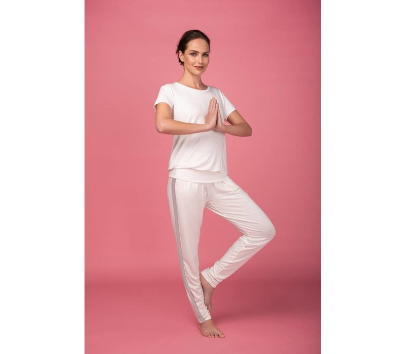 Asquith Divine Pants - Ivory/Cloud