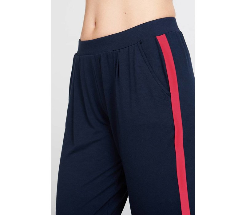 Asquith Divine Pants - Navy/Sunset Pink