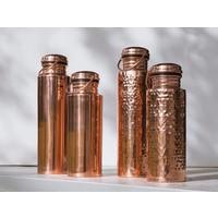 Ayur Copper Water Bottle 900ml - Smooth