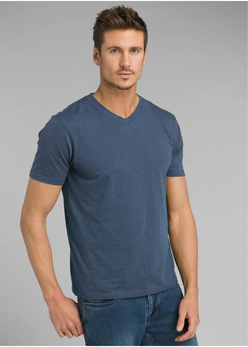 PrAna PrAna V-Neck - Denim Heather