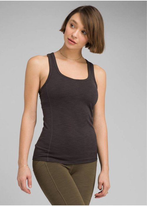 PrAna PrAna Becksa Tank - Black Heather