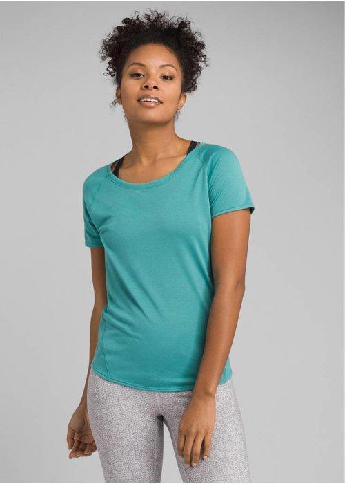 PrAna PrAna Iselle Short Sleeve - Lagoon Blue