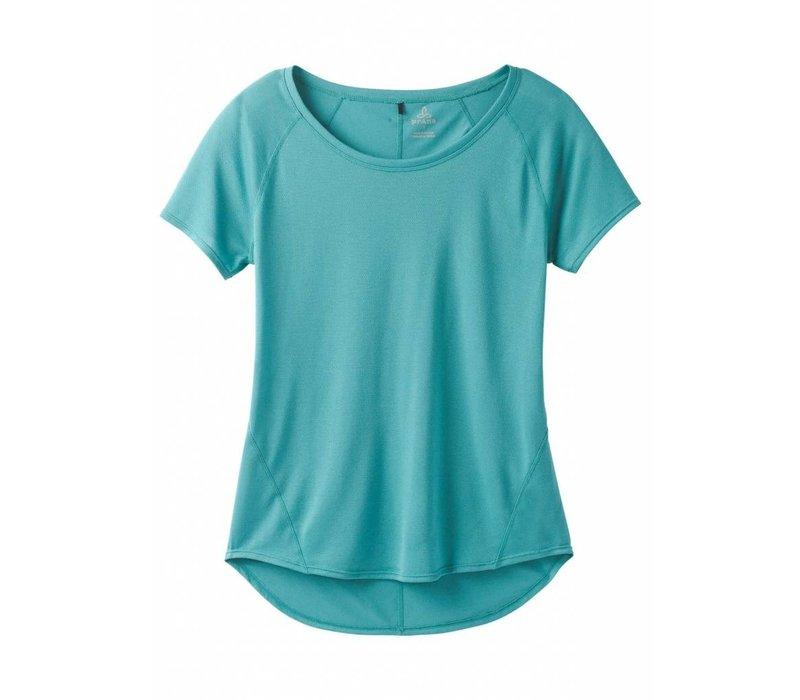 PrAna Iselle Short Sleeve - Lagoon Blue