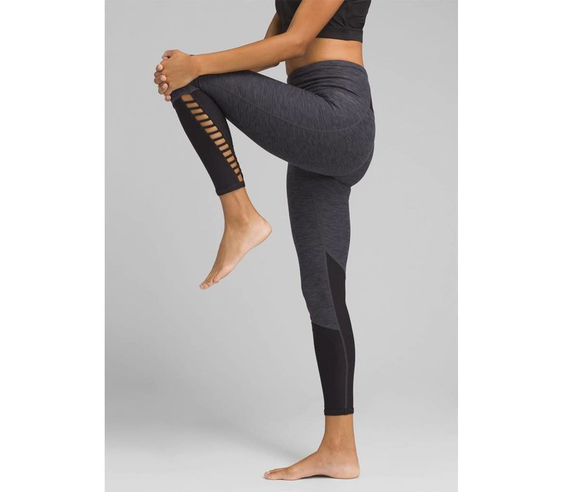 PrAna Bohemio 7/8 Legging - Black Heather