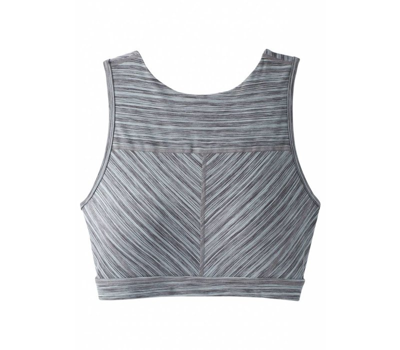 PrAna Lupita Crop Bra - Agave Heather