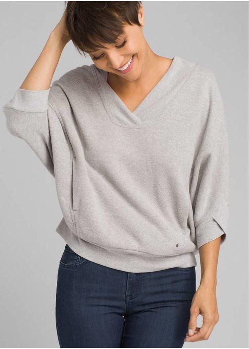 PrAna PrAna Cozy Up Pullover - Heather Grey