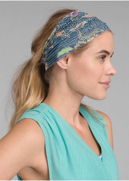 PrAna PrAna Large Headband - Blue Anchor