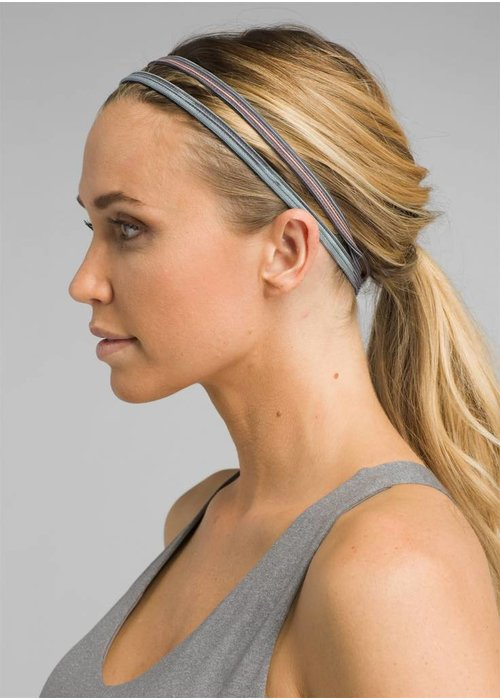 PrAna PrAna Printed Double Headband - Granite Sunrise