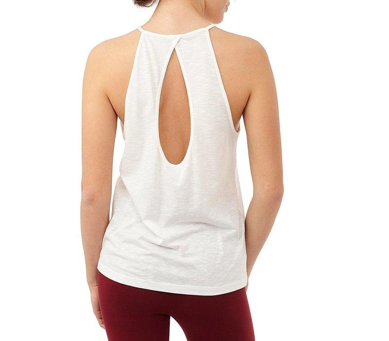 Mandala Neckholder Top - White