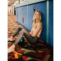 Teeki Yoga Legging - Polka Dot Cowgirl