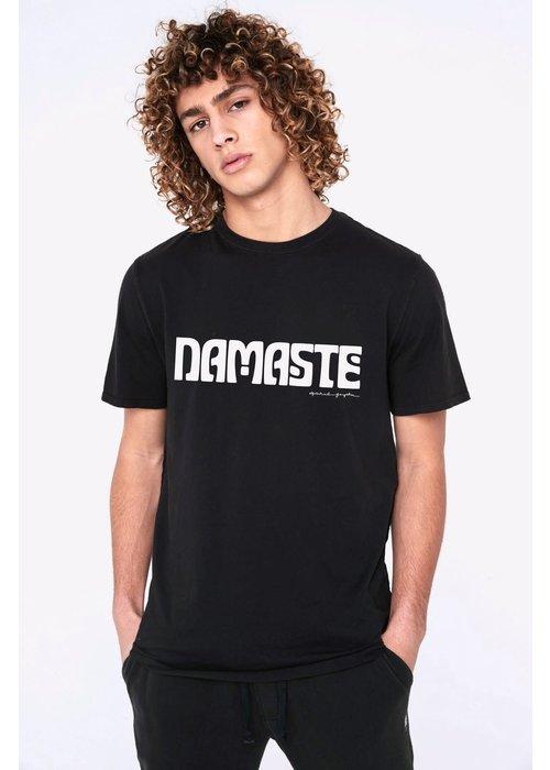 Spiritual Gangster Spiritual Gangster Namaste Tee - Vintage Black