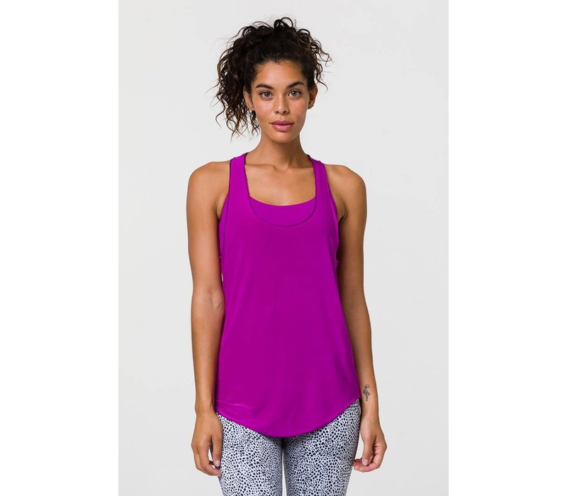 Onzie Glossy Flow Tank - Orchid