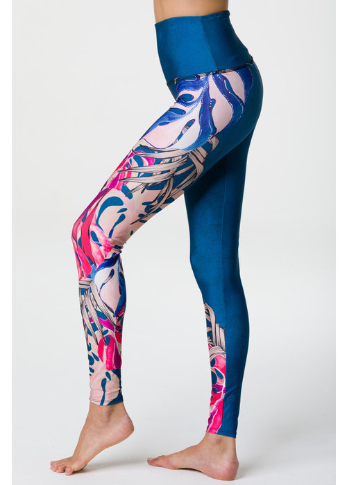 Onzie Onzie High Rise Graphic Legging - Boca