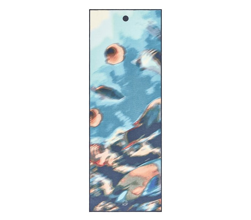 Yogitoes Yoga Towel 172cm 61cm - Underwater Blur