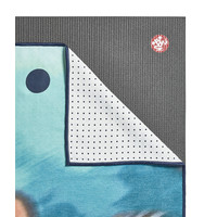 Yogitoes Yoga Handdoek 172cm 61cm - Underwater Blur