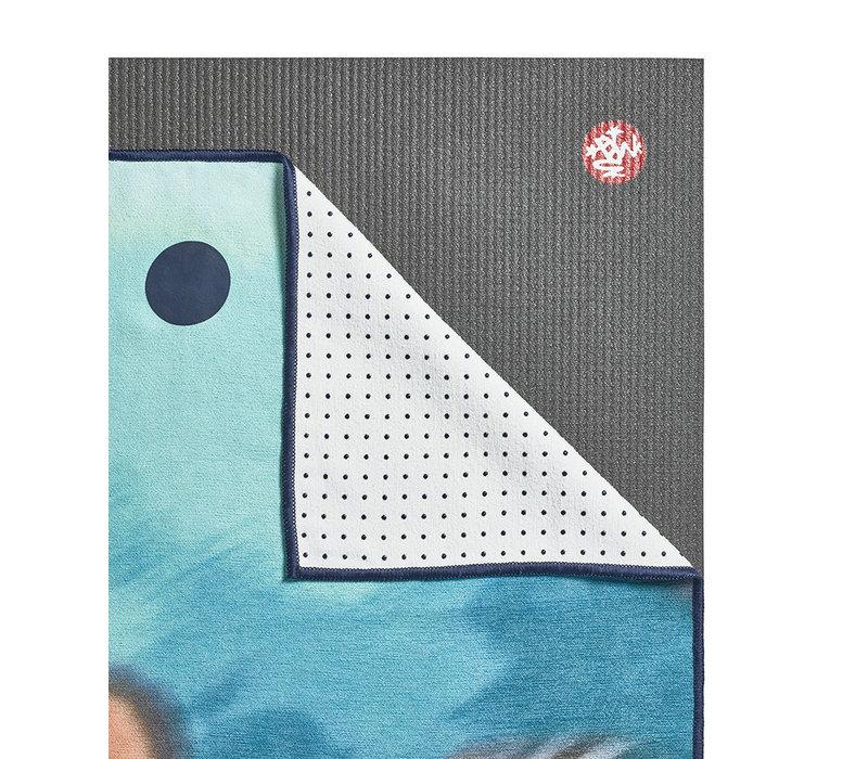 Yogitoes Yoga Handtuch 172cm 61cm - Underwater Blur