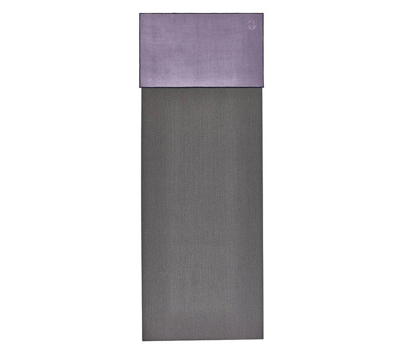 Manduka eQua Handdoek 40cm 67cm - Hyacinth