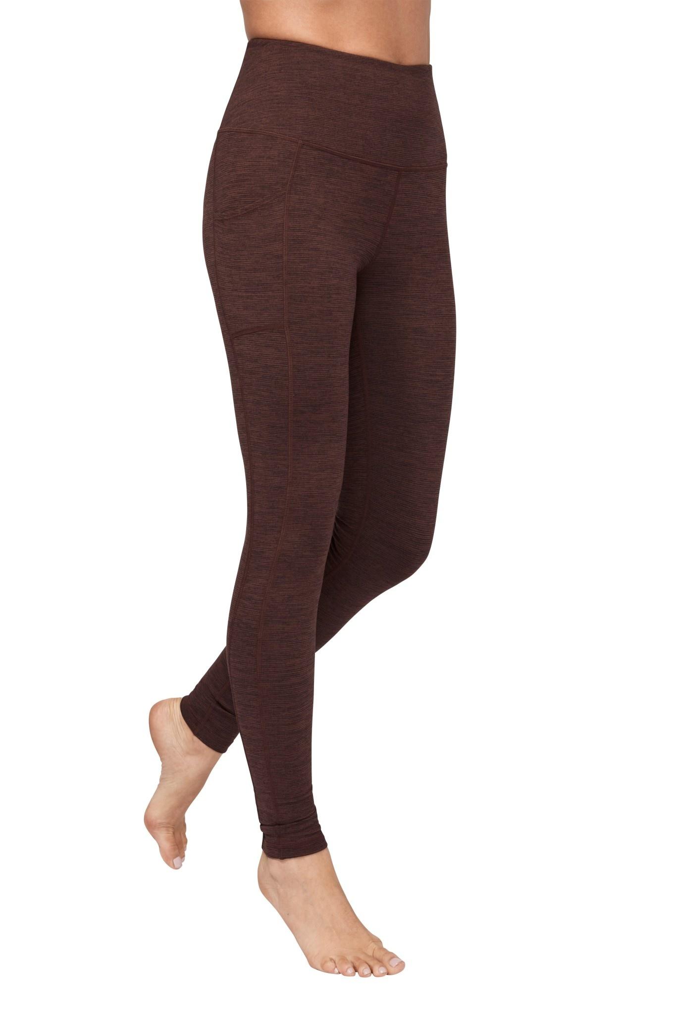 316074301ccb16 Manduka Essential Pocket Legging - Heather Fig - Yogisha Amsterdam