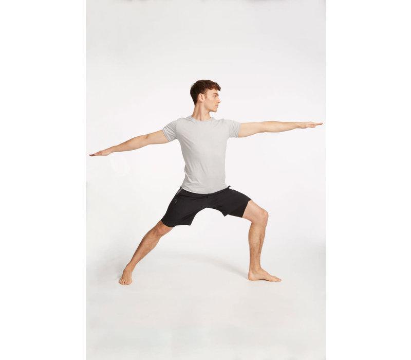 Ohmme Eco Warrior II Yoga Shorts - Black