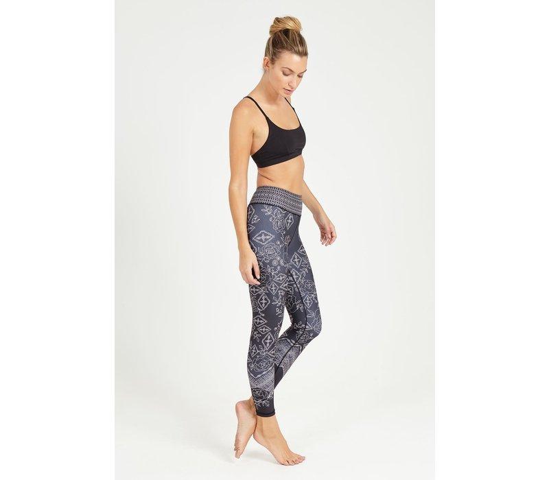 Dharma Bums Yoga Legging - Keepsake