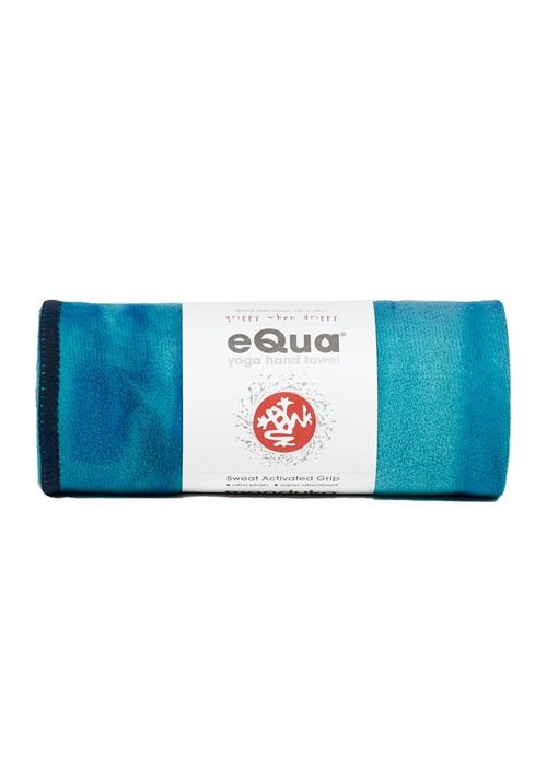 Manduka Manduka eQua Handdoek 40cm 67cm - Pacific Blue Hand Dye