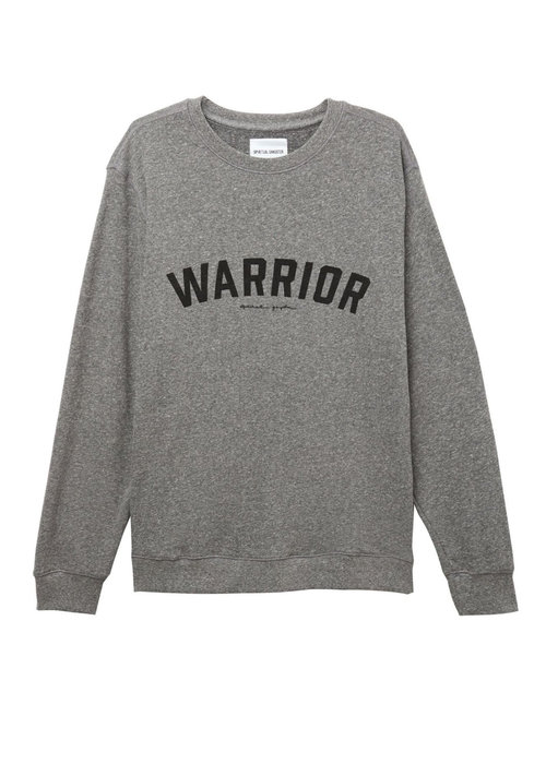Spiritual Gangster Spiritual Gangster Warrior Pullover - Heather Grey