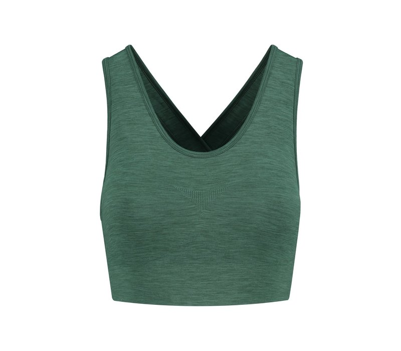 Tame The Bull Want To Wear Bra - Dark Green