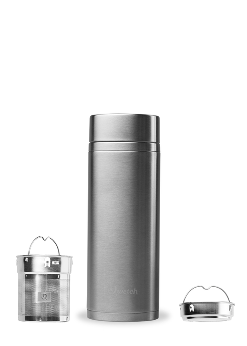 Qwetch Qwetch Thee Reis Thermos - Roestvrijstaal