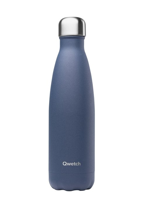 Qwetch Qwetch Insulated Bottle 500ml - Granite Blue