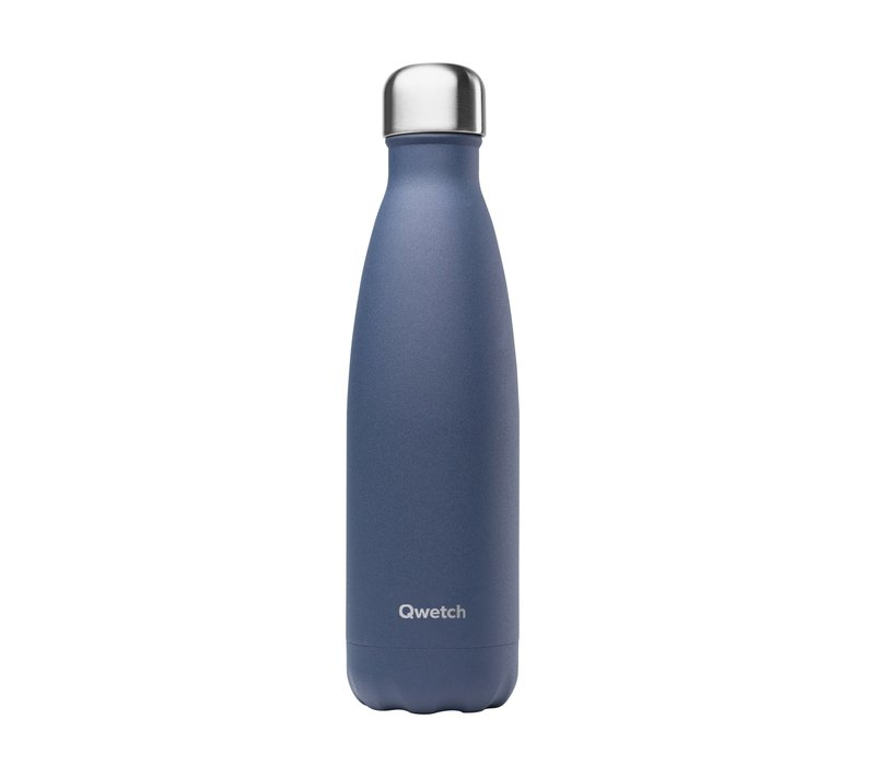Qwetch Insulated Bottle 500ml - Granite Blue