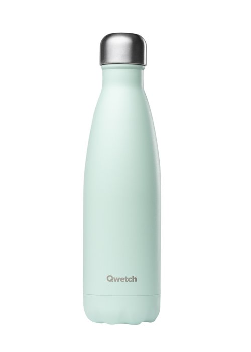 Qwetch Qwetch Insulated Bottle 500ml - Pastel Green