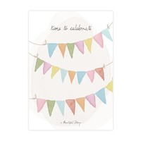 A Beautiful Story Greeting Card - Celebrate