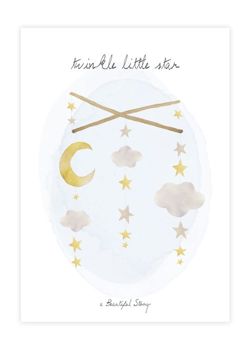 A Beautiful Story A Beautiful Story Greeting Card - Twinkle