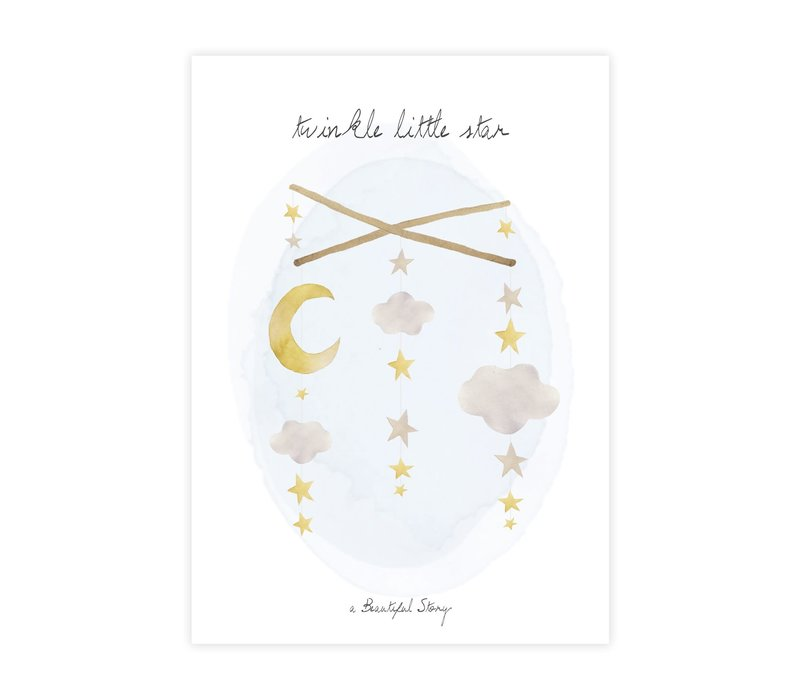 A Beautiful Story Greeting Card - Twinkle