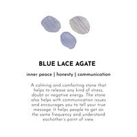 A Beautiful Story Favorite Zilveren Oorbel - Blauwe Agaat