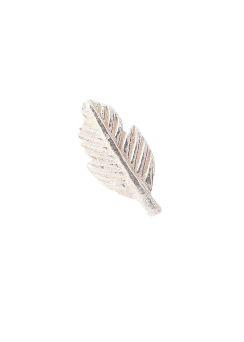 A Beautiful Story A Beautiful Story Feather Sterling Zilveren Oorbel