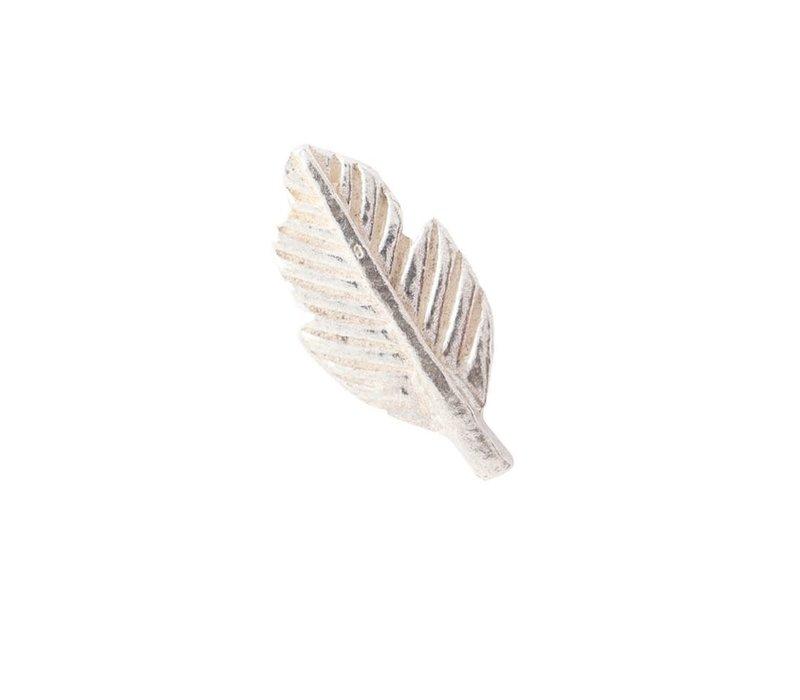 A Beautiful Story Feather Sterling Zilveren Oorbel