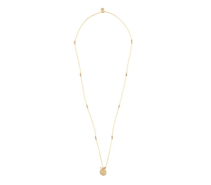 A Beautiful Story Truly Gold Necklace - Citrine