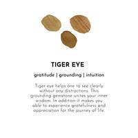 A Beautiful Story Nirmala Golden Bracelet - Tiger Eye