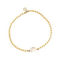 A Beautiful Story Summer Gouden Armband - Citrien