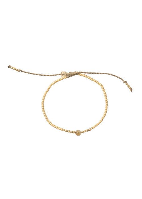 A Beautiful Story A Beautiful Story Twinkle Gold Bracelet - Citrine