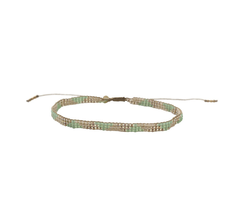 A Beautiful Story Sunlight Gold Anklet - Aventurine