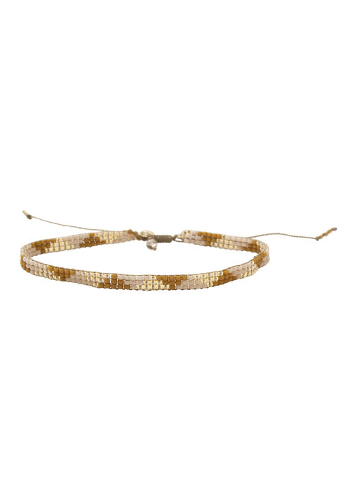A Beautiful Story A Beautiful Story Sunlight Gold Anklet - Citrine