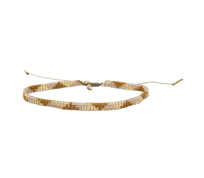 A Beautiful Story Sunlight Gold Anklet - Citrine
