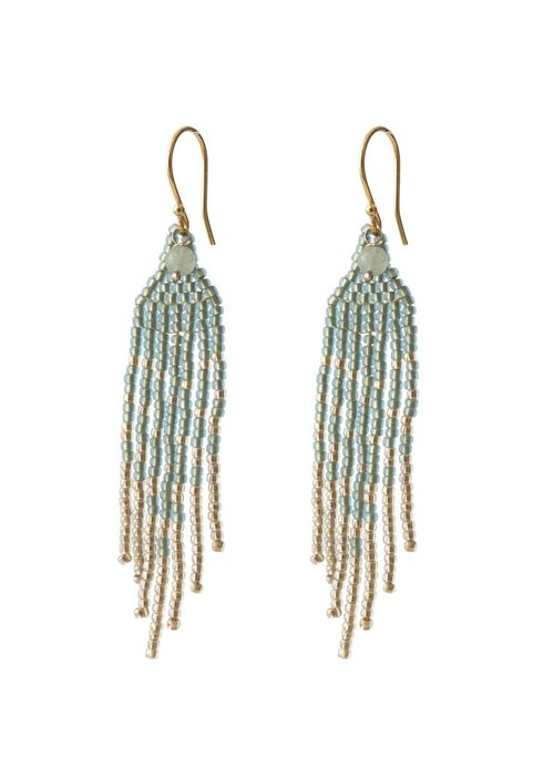 A Beautiful Story A Beautiful Story Favorite Gold Earring - Aventurine