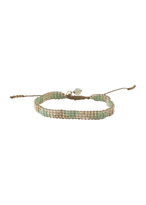 A Beautiful Story A Beautiful Story Sunlight Gold Bracelet - Aventurine