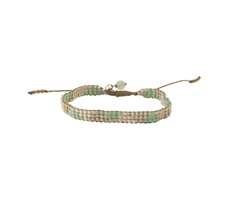 A Beautiful Story Sunlight Gold Bracelet - Aventurine